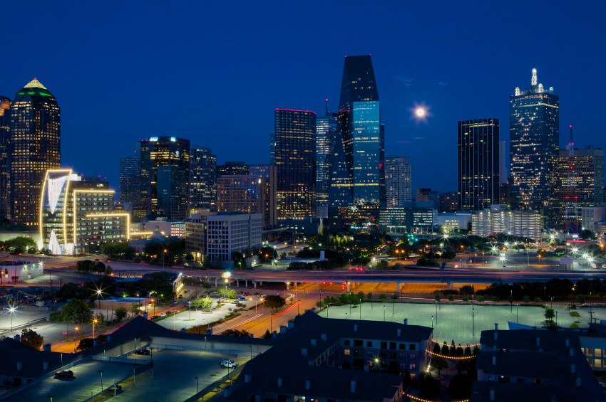 Dallas Skyline 2013